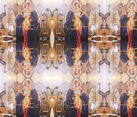 KING Bey Realness fabric by prettypoison on Spoonflower - custom fabric