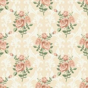 Rose vintage pattern