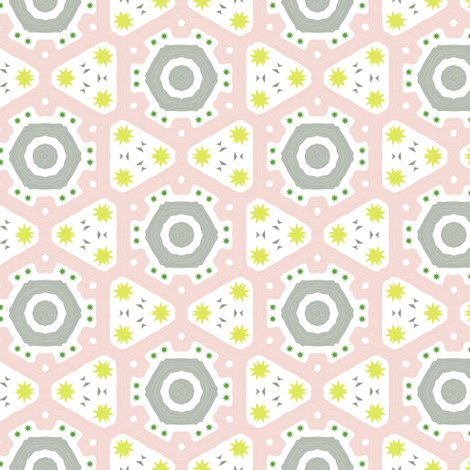 cactus can be sweet too fabric by susiprint on Spoonflower - custom fabric