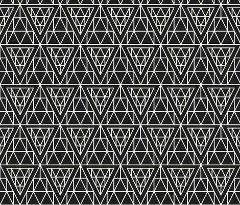diamond_line fabric by holli_zollinger on Spoonflower - custom fabric