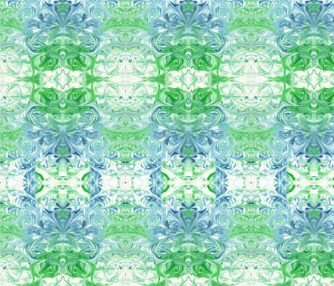 Lotus fabric by chemart on Spoonflower - custom fabric