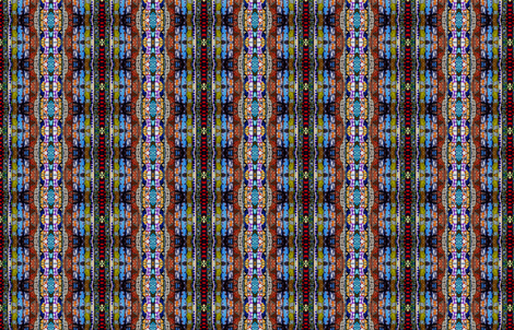 Stained Glass Mosaic fabric by skcreations,_llc on Spoonflower - custom fabric