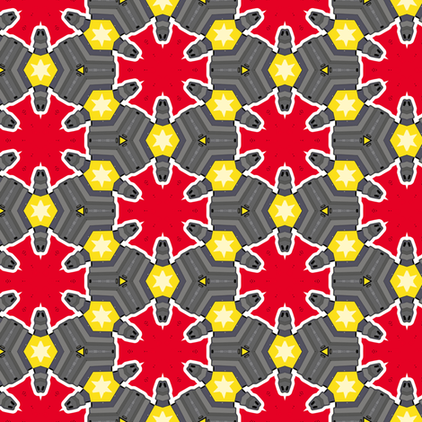 ohyeah2 fabric by susiprint on Spoonflower - custom fabric