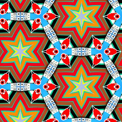 geek stars fabric by susiprint on Spoonflower - custom fabric