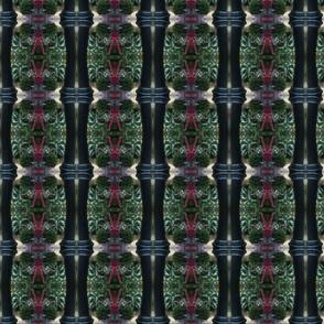 Black Column, green center