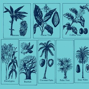 Tropical Trees blues
