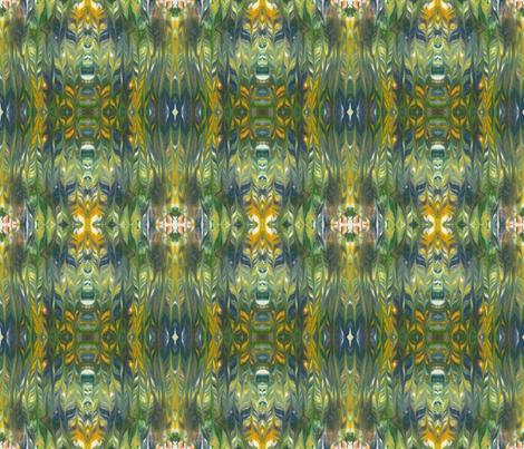 Tribal fabric by chemart on Spoonflower - custom fabric