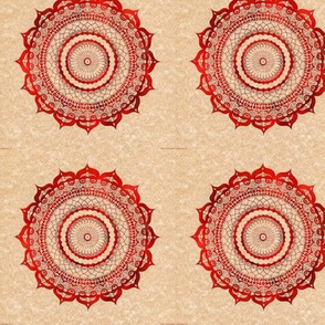 red_and_pink_mandala_fabric