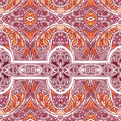 Love Victorian Style fabric by edsel2084 on Spoonflower - custom fabric
