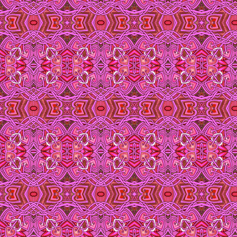 When Hot Pink Met Fuchsia fabric by edsel2084 on Spoonflower - custom fabric