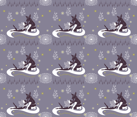 The lunatic, lover & poet fabric by liliszabo on Spoonflower - custom fabric