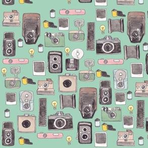 Vintage Cameras in mint