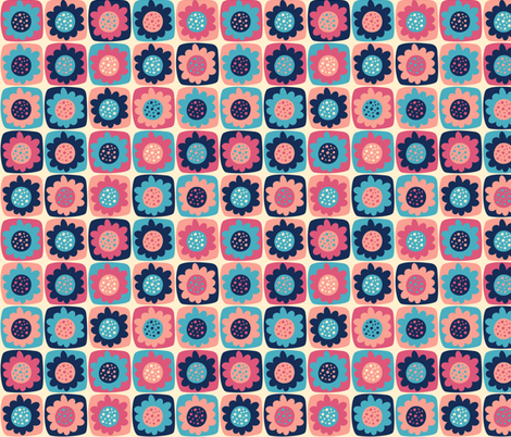 Mosaic fabric by valendji on Spoonflower - custom fabric