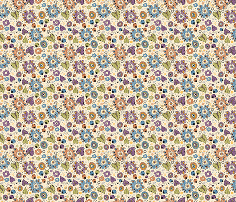 Glade fabric by valendji on Spoonflower - custom fabric
