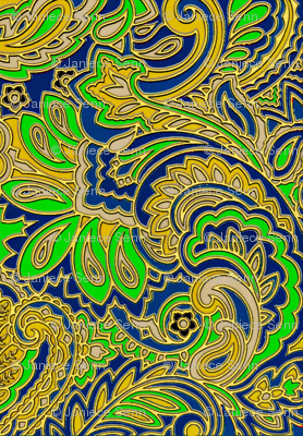 New growth Paisley design
