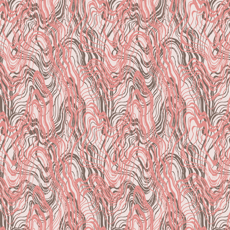 pink fantasy fabric by susiprint on Spoonflower - custom fabric