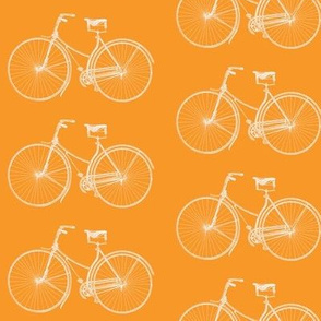 Bright Orange Bikes