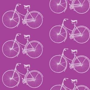 Bright Purple Bikes