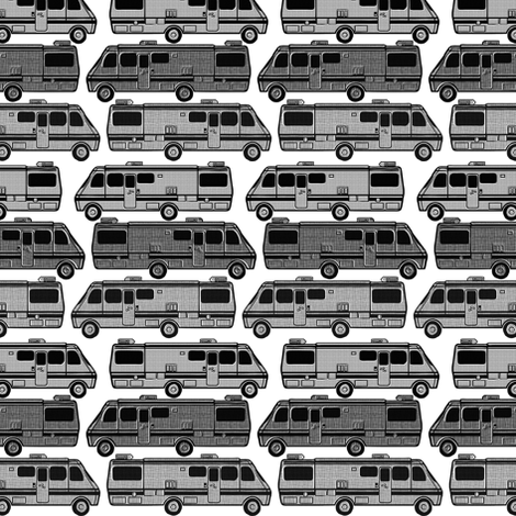vans black and white fabric by susiprint on Spoonflower - custom fabric