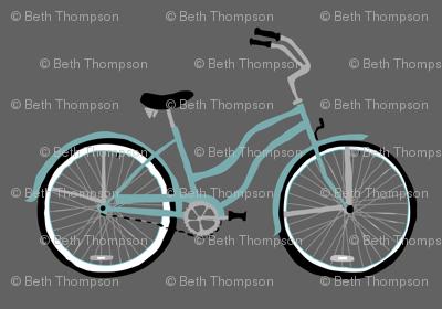 Aqua Bike on Gray