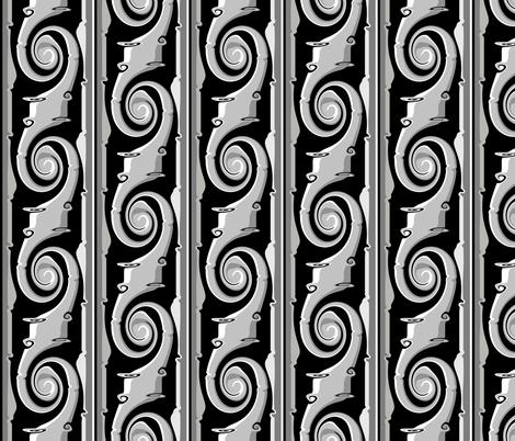 Mystic twist fabric by retroretro on Spoonflower - custom fabric