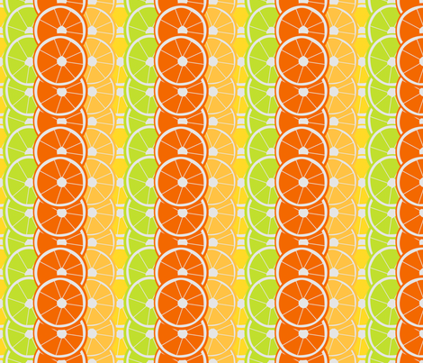 Citrus Slices fabric by brandymiller on Spoonflower - custom fabric