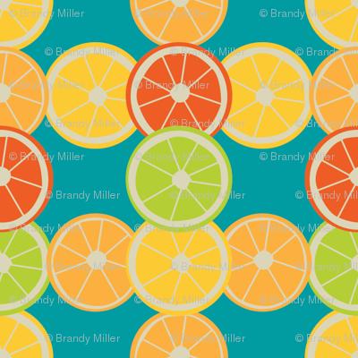 Citrus Plaid