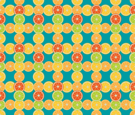 Citrus Plaid fabric by brandymiller on Spoonflower - custom fabric