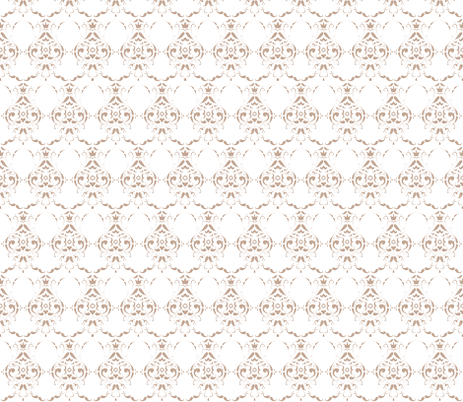 Low Contrast Moustache Damask fabric by crowlands on Spoonflower - custom fabric