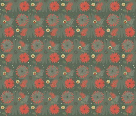 Garden fabric by novaform on Spoonflower - custom fabric