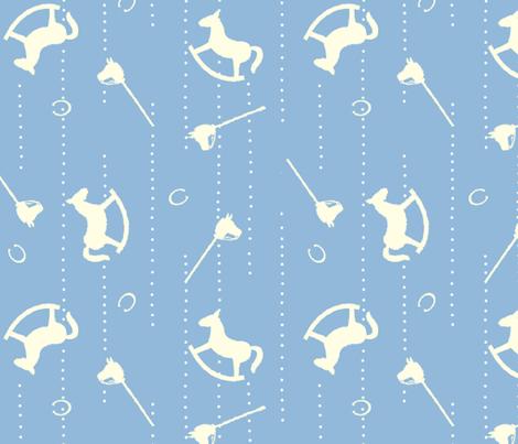 Horses_design fabric by aliza on Spoonflower - custom fabric