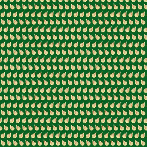 Tart Tangy Zany Juicy Drops of Lemony Goodess - Leafy green fabric by walkwithmagistudio on Spoonflower - custom fabric