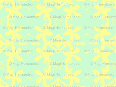Garlands of Lemon Blossoms Lime