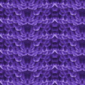 Feather Tile in Purple