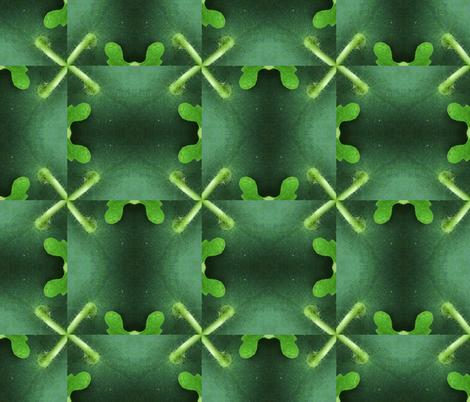 Watermelon Cross-stitch fabric by disneymamom on Spoonflower - custom fabric