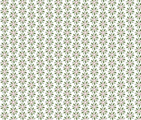 Holly Pinwheel fabric by ravynscache on Spoonflower - custom fabric