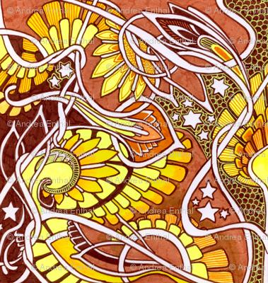 The Magic Sunshine Sunflower