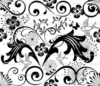Baroque, Black and White