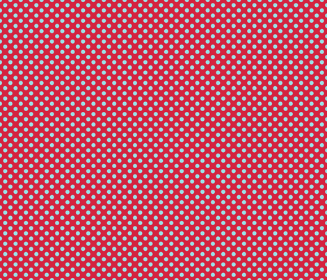 Polka Dot Red And Blue fabric by lovelyjubbly on Spoonflower - custom fabric