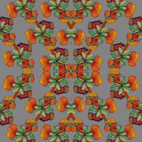 Iris Rings fabric by kumate on Spoonflower - custom fabric