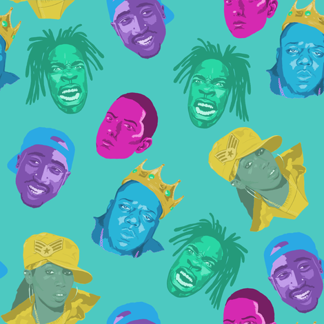 Rap Wrap! fabric by feverdream on Spoonflower - custom fabric