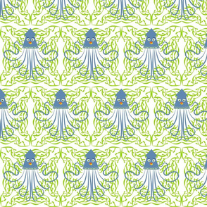 Collosal Squid - Blue