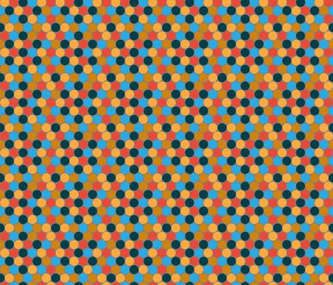 Geek Polkadot fabric by joyfulroots on Spoonflower - custom fabric