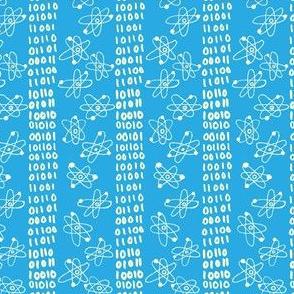 Binary Atoms: Blue