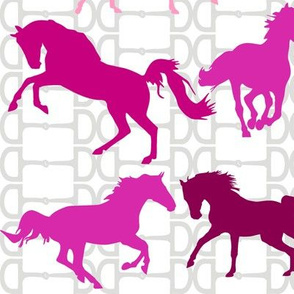 Horse Bits Pinkberry