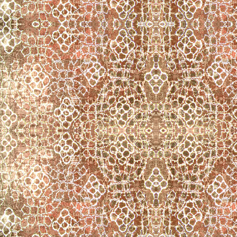 Mosque - pink, white, brown fabric by materialsgirl on Spoonflower - custom fabric