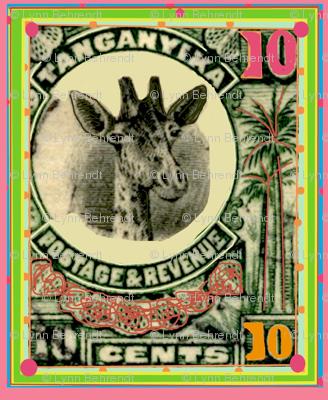tanganyikan postage stamp