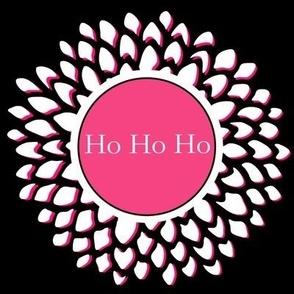 Ho Ho Ho in Fuchsia
