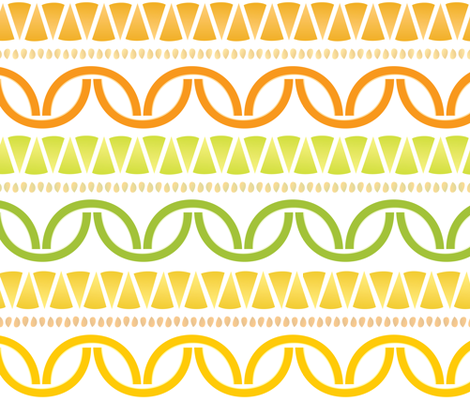 Citrus_Deconstructed fabric by melhales on Spoonflower - custom fabric