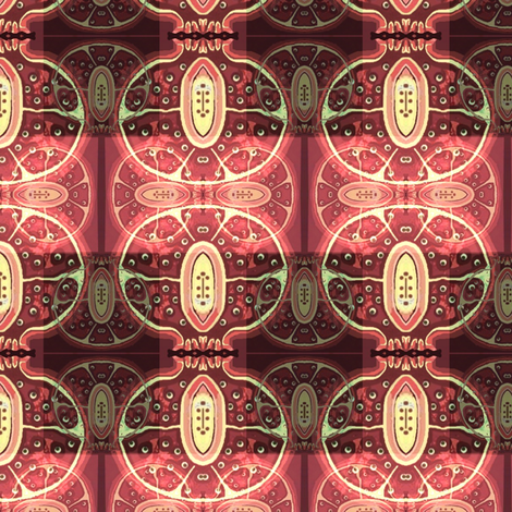 pomegranate 1 fabric by dk_designs on Spoonflower - custom fabric